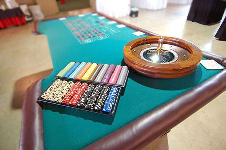 Casino fundraiser event